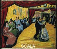 Heckel, Erich (1883-1970) Village dance, 1908