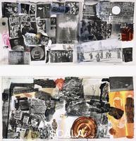 Rauschenberg, Robert (1925-2008) Rauschenberg, Robert (1925-2008). Dante's Inferno - Drawings for Dante's 700th Bithday. 1965