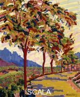 Herbin, Auguste (1882-1960) Herbin, Auguste (1882-1960). Landscape in Corsica; Routes et Montagnes en Corse. 1907