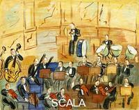 Dufy, Raoul (1877-1953) Dufy, Raoul (1877-1953). The Orchestra; L'Orchestre. 1937-1938