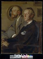 Blanche, Jacques Emile (1861-1942) Portraits of Charles Shannon and Charles Ricketts. 1904