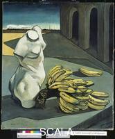 De Chirico, Giorgio (1888-1978) The Uncertainty of the Poet, 1913