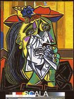 Picasso, Pablo (1881-1973) Weeping Woman. 1937