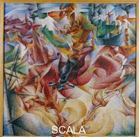 Boccioni, Umberto (1882-1916) Elasticity, 1912
