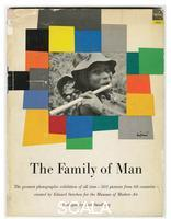 ******** Cover of the exhibition catalogue 'The Family of Man', by Edward Steichen, MoMA, NY, 1955 (first edition)