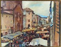 Bucci, Anselmo (1887-1955) Fair of San Carlo