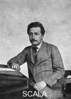 ******** Albert Einstein (1879-1955), German-Swiss mathematician and theoretical physicist, 1905.