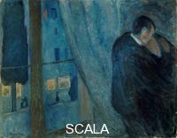 Munch, Edvard (1863-1944) The Kiss