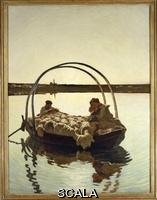 Segantini, Giovanni (1858-1899) Ave Maria (hail, Mary), 1886
