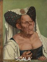 Metsys, Quentin (1466 ca.-1530), attr. A Grotesque Old Woman, about 1525-30