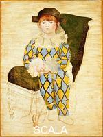 Picasso, Pablo (1881-1973) Paul en arlequin (Paul Dressed as Harlequin), 1924