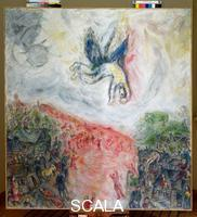 Chagall, Marc (1887-1985) The Fall of Icarus, 1974-77
