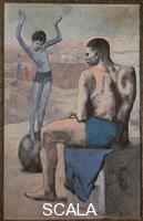 Picasso, Pablo (1881-1973) La bambina sulla palla