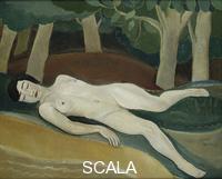 Tytgat, Edgard (1879-1957) The Sleeping Beauty; La Belle au Bois Dormant. 1924