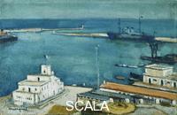 Marquet, Albert (1875-1947) Port of Algiers; Le Port d'Alger. c.1940