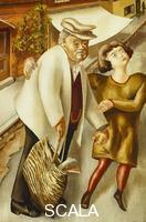 Spencer, Stanley (1891-1959) Crossing the Road. 1936