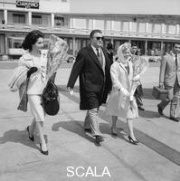 ******** Yvonne Fourneaux, Federico Fellini e Giulietta Masina