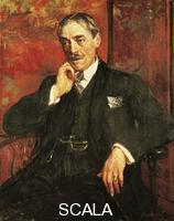 ******** Portrait of Paul Valery (Sete, 1871-Paris, 1945), French writer. Painting by Jacques Emile Blanche (1861-1942), 1923, oil on canvas, 92.4 x73. 4 cm.