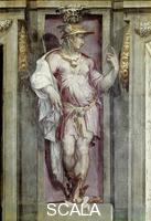 Vasari, Giorgio (1511-1574) Giorgio Vasari (1511-1574); Mercure; Palazzo Vecchio; Florence