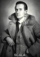 ******** Robert von Mendelsohn. Banker Robert von Mendelssohn (1902-1996). 1923. Photograph by Franz Xaver Setzer.