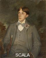 Blanche, Jacques Emile (1861-1942) Aubrey Vincent Beardsley. 1895