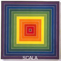 Stella, Frank (b. 1936) Single Concentric Squares (violet to red violet half-step), 1974