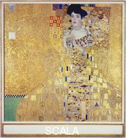 Klimt, Gustav (1862-1918) Adele Bloch-Bauer I, 1907