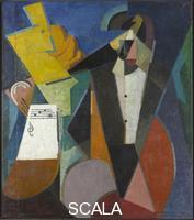 Gleizes, Albert (1881-1953) Portrait of Igor Stravinsky, 1914