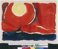 O'Keeffe, Georgia (1887-1986) Evening Star No. VI, 1917