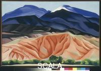 O'Keeffe, Georgia (1887-1986) Black Mesa Landscape, New Mexico / Out Back of Marie's II, 1930