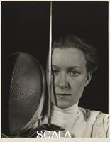 Cunningham, Imogen (1883-1976) Helene Mayer, 1936