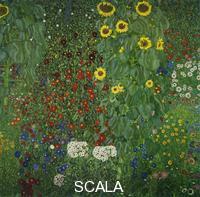 Klimt, Gustav (1862-1918) Country Garden with Sunflowers, 1906