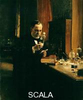 Edelfelt, Albert (1854-1905) Portrait of Louis Pasteur