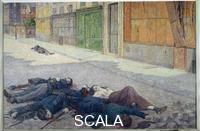 Luce, Maximilien (1858-1941) The Commune
