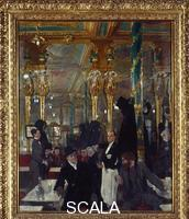 Orpen, William (1878-1931) The Cafe' Royal in London