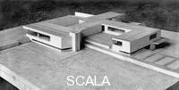 Mies van der Rohe, Ludwig (1886-1969) Concrete Country House Project, no intended site known, 1923. View of model (lost), garden facade