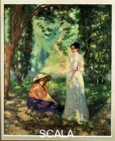 Anquetin, Louis (1861-1932) Two Women in a Landscape