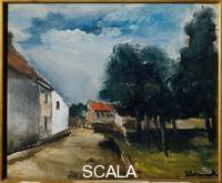 Vlaminck, Maurice de (1876-1958) Landscape at Auvers