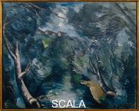 Vlaminck, Maurice de (1876-1958) Landscape with River