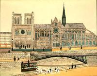 Vivin, Louis (1861-1936) Notre Dame, 1933