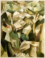Gleizes, Albert (1881-1953) Landscape with Figure