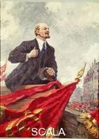 Gherasimov, Aleksandr (1881-1963) Lenin alla tribuna 1947