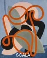 Herbin, Auguste (1882-1960) Herbin, Auguste (1882-1960). Abstract Composition; Composition Abstraite. 1933