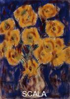 ******** Rohlfs, Christian (1849-1938). Chrysanthemums; Chrysanthemen. 1919