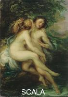 Piccio (Carnovali, Giovanni 1804-1873) Salmacis and Hermaphroditus