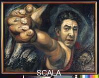 Siqueiros, David Alfaro (1896-1974) Self Portrait (El Coronelazo), 1945