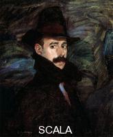******** Self-portrait', 20th century. Ignacio Zuloaga (1870-1945) was a Basque Spanish painter. Found in the collection of the State A Pushkin Museum of Fine Arts, Moscow. Artist: Ignacio Zuloaga