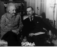 ******** Thomas Mann and Albert Einstein, Princeton, 1938