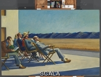 Hopper, Edward (1882-1967) People in the Sun. 1960.
