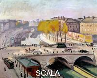 Marquet, Albert (1875-1947) Le Pont Saint Michel et le Quai des Grands Augustins a Paris, 1912